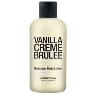 Supre Hempz Treats Body Lotion Vanilla Creme Brulee, 8.5 oz