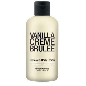 Supre Hempz Treats Body Lotion Vanilla Creme Brulee, 8.5 oz