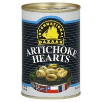 International Bazaar Artichoke Hearts, 14-Ounce (Pack of 6)