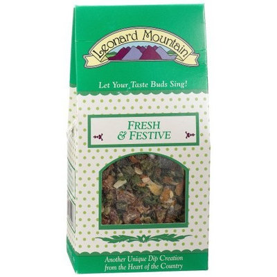 Leonard Mountain Fresh 'n Festive Dip, 1.75-Ounce. (Pack of 6)