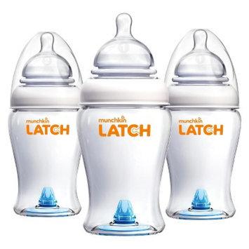Munchkin LATCH 3pk 8oz BPA Free Baby Bottle Set