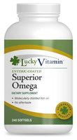 LuckyVitamin - Superior Omega-3 - 240 Enteric Coated Softgels