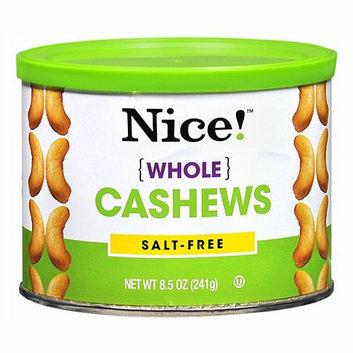 Nice! Whole Cashews Salt-Free