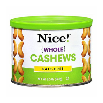 Nice! Whole Cashews Salt-Free
