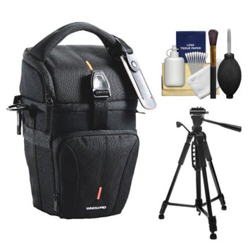 Vanguard Up-Rise II 16Z Expandable Digital SLR Camera Zoom Case (Black) with Tripod + Accessory Kit