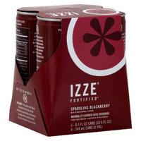 IZZE Sparkling Blackberry Beverage 8.4 oz, 4 pk