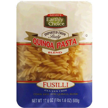 Natures Earthly Choice Earthly Choice Fusilli Quinoa Pasta, 17.6 oz, (Pack of 6)