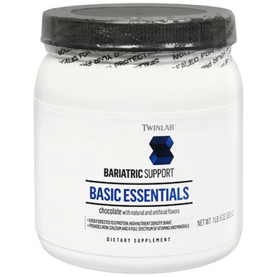 Twinlab Bariatric Support Bariatric Support Basic Essentials Dietary Supplement Powder Chocolate