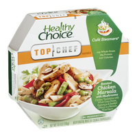 Healthy Choice Top Chef Inspired Cafe Steamers Roasted Chicken Marsala with Mushrooms