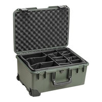 Hardigg Pelican iM2620 Storm Case with Padded Dividers - 1.62 ft - Internal Dimensions: 14 Width x 10 Depth x 20 Length - External Dimensions: 16.0 Width x 10.6 Depth x 21.2 Length - HPX Resin, Nylon, Foam - Olive Drab