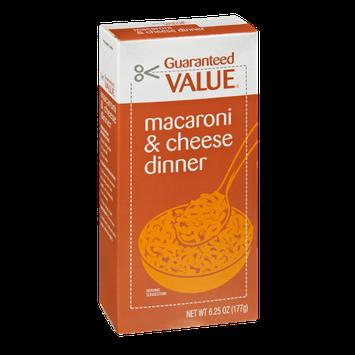 Guaranteed Value Macaroni & Cheese Dinner