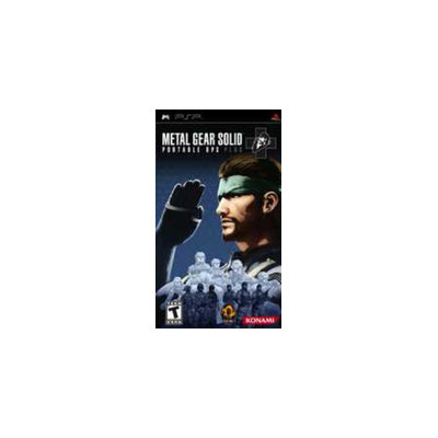 Konami Metal Gear Solid: Portable Ops Plus