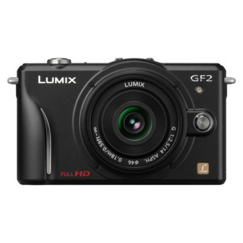 Panasonic DMC-GF2K 12.1MP Digital Camera with 3x Optical Zoom - Black