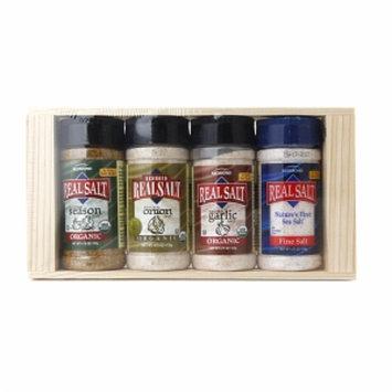 Real Salt Organic Seasoning Gift Box, 4 ea