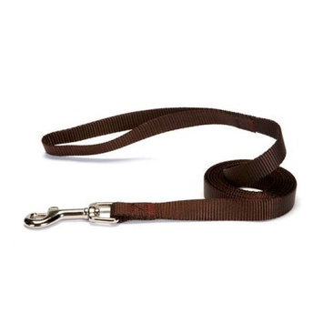 Zack & Zoey US2392 64 31 Nylon Lead 6 Ft x .63 In Chocolate