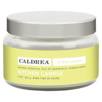 Caldrea 8 Ounce Citron Ginger Kitchen Candle