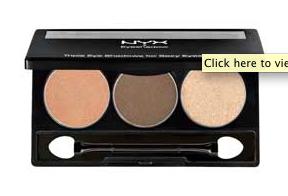 NYX Trio Eyeshadow In Dune