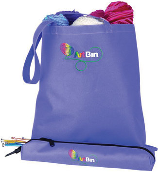 Flambeau Corporation ArtBin Needle Arts Tote with Accessory Pouch - Periwinkle