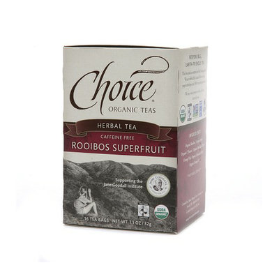 Choice Organic Teas Herbal Tea Rooibos Superfruit