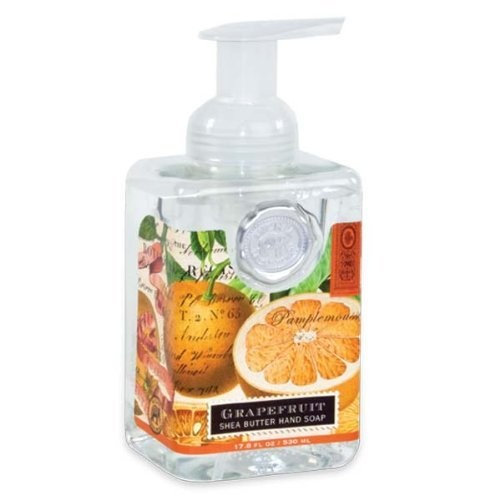 Michel Design Works Grapefruit Foaming Soap, 17.8 Fluid Ounce