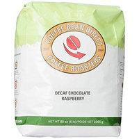 Coffee Bean Direct Decaf Chocolate Raspberry Flavored, Whole Bean Coffee, 5-Pound Bag