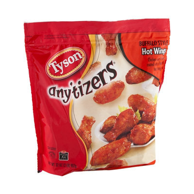 Tyson Any'tizers Chicken Hot Wings Buffalo Style