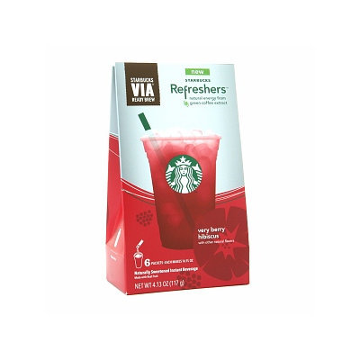 Starbucks VIA Refreshers Very Berry Hibiscus