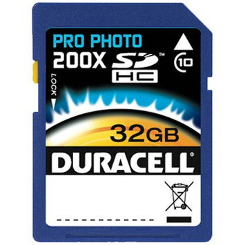 Duracell Pro Photo 200x Secure Digital HC Class 10 32GB