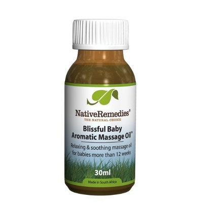 Native Remedies Blissful Baby Aromatic Massage Oil to Calm and Soothe Baby Through Massage, 30ml