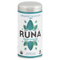 Runa Organic Guayusa Loose Leaf Tea Mint 1.8 oz