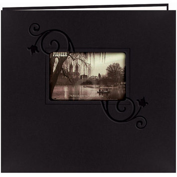 Pioneer Embossed Postbound Album with Window - 12