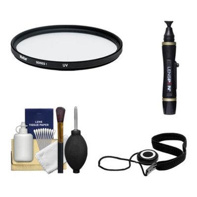 Vivitar 52mm UV Multi-Purpose Glass Filter + LensPen + CapKeeper + Lens Cleaning Kit for Canon, Nikon, Sony, Olympus & Pentax Lenses
