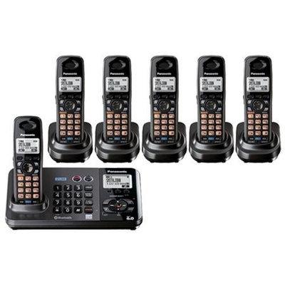 Panasonic KX-TG9382T + (4) KX-TGA939 2-Line DECT 6.0 Cordless Phone w/