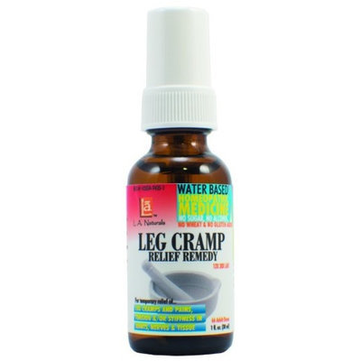 Leg Cramps Remedy LCQ w/Quinine, 1 oz, L.A. Naturals