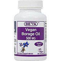 Deva Vegan Vitamins Deva Vegan Borage Oil 500 mg 90 Vcaps