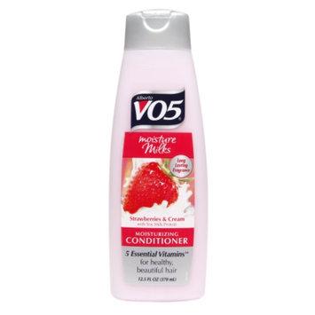 Alberto VO5 Moisture Milks Moisturizing Conditioner, Stawberries & Cream, 12.5 fl oz