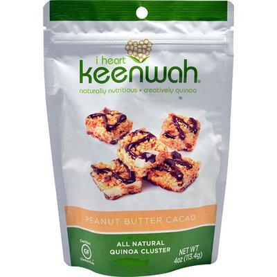 I Heart Keenwah Quinoa Clusters Peanut Butter Cacao 4 oz