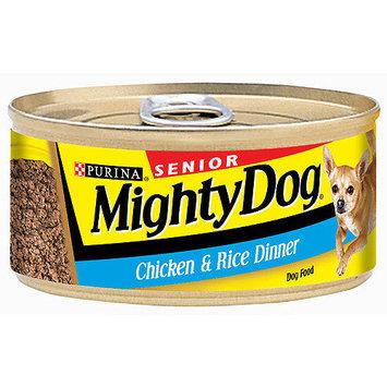Mighty Dog Senior Chicken & Rice Dinner Dog Food, 5.5 oz