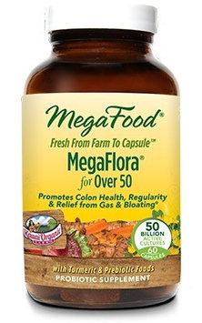 MegaFlora for Over 50 MegaFood 60 Caps