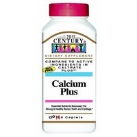 21st Century Calcium Plus Capsules, 120 Count (Pack of 2)
