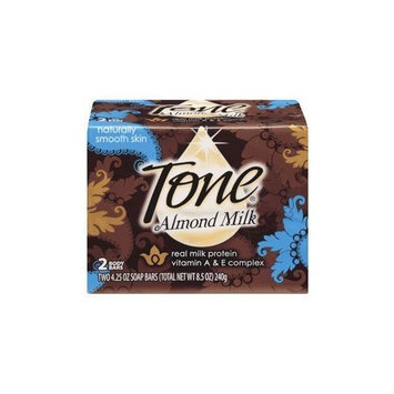 Tone Body Bar Soap Almond Milk 4.25 Oz - 24 Pack