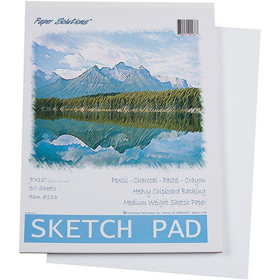 Darice Sketch Pad, 50 Sheets per Pack