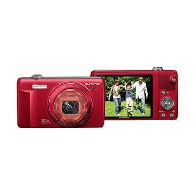 Olympus Digital Camera VR-340 Red