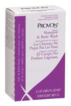 Provon Shampoo and Body Wash Refill (Floral Fragrance, 2000 ml, 4) [PK/4]. Model: 2234-04