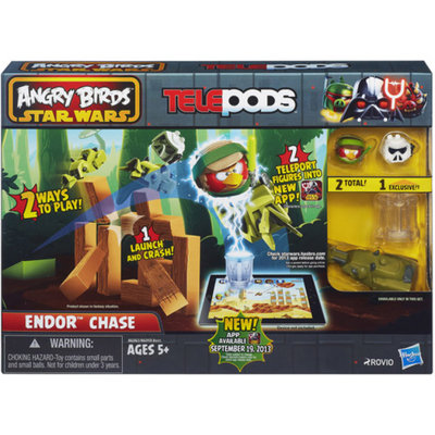 Angry Birds Star Wars Telepods Endor Chase Set