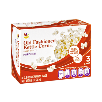 Ahold Old Fashioned Kettle Corn Popcorn