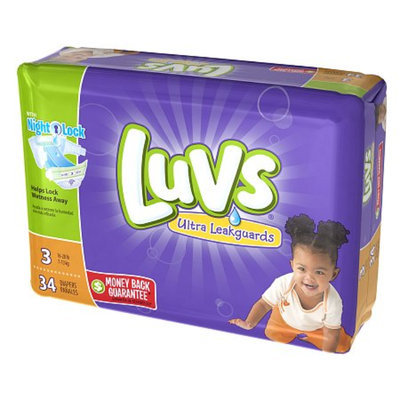 Luvs with Ultra Leakguards Size 3 Diapers