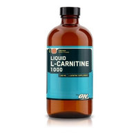 Optimum Nutrition Liquid L-Carnitine 1000, 12 oz