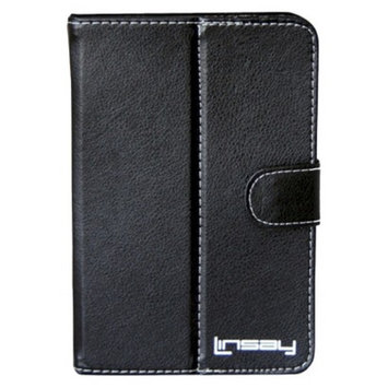 Linsay LINSAY Protective Leather Hard Case - Black (C-7)