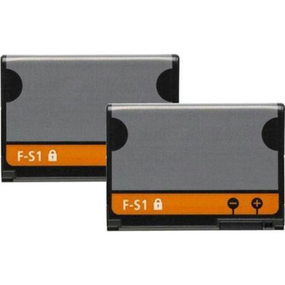 Replacement Battery For Blackberry FS-1 (2 Pack)
